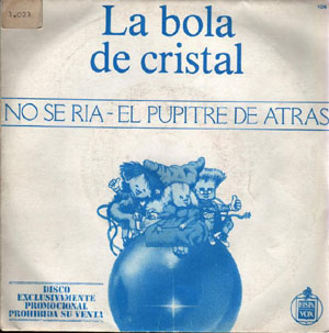 Single promocional disco La Bola de Cristal